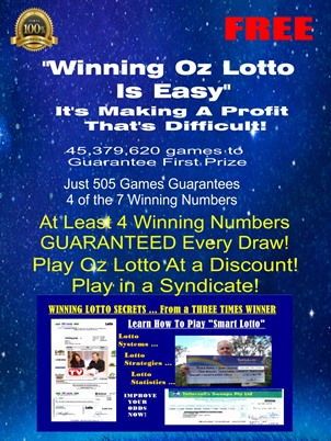 Winning Oz Lotto Is Easy