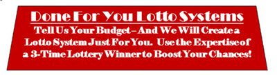 Done For You MegaMillions Lotto Systems